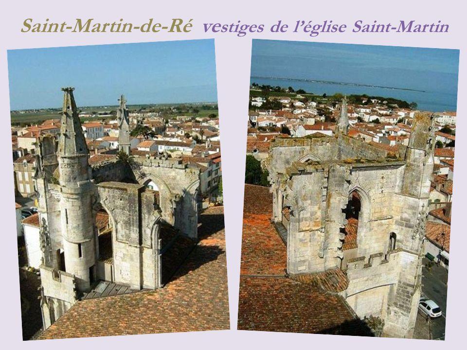 Saint-Martin-de-Ré vestiges de l'église Saint-Martin