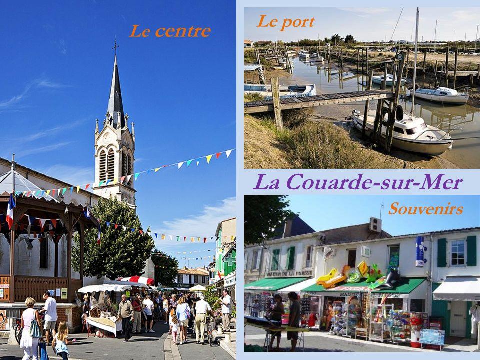 Le port Le centre La Couarde-sur-Mer Souvenirs