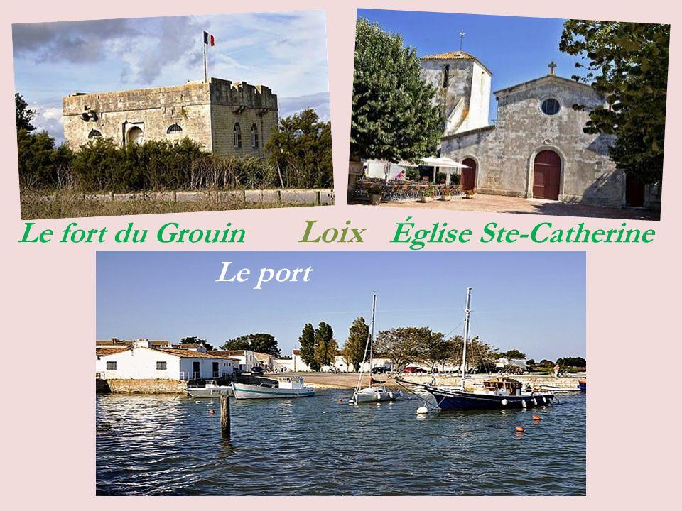 Le fort du Grouin Loix Église Ste-Catherine