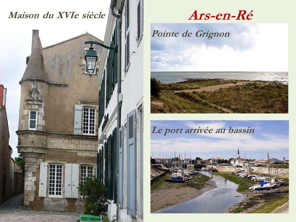 Ars-en-Ré Maison du XVIe siècle Pointe de Grignon
