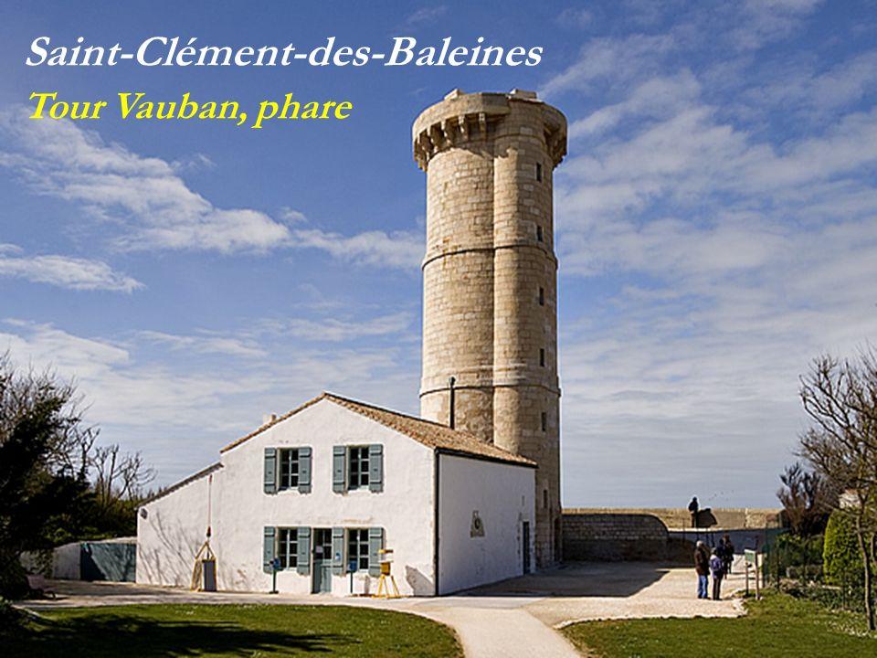 Saint-Clément-des-Baleines Tour Vauban, phare