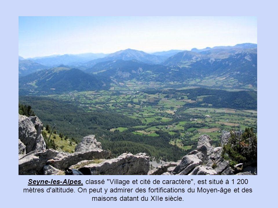 Seyne-les-Alpes, classé Village et cité de caractère , est situé à 1 200 mètres d altitude.