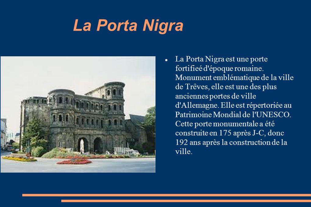 La Porta Nigra