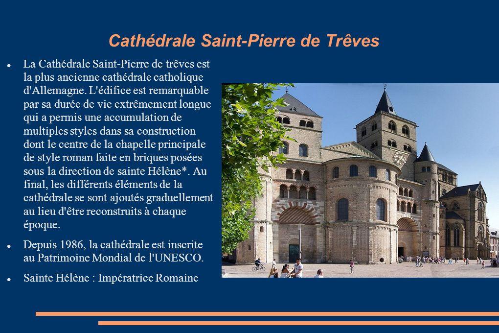 Cathédrale Saint-Pierre de Trêves