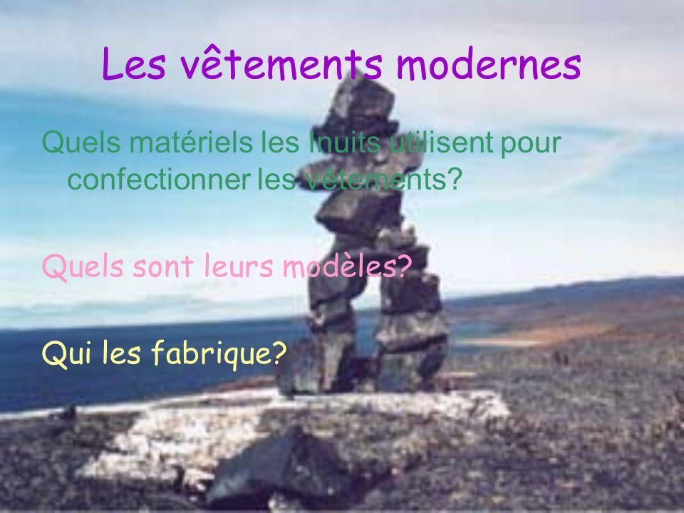 Les vêtements modernes
