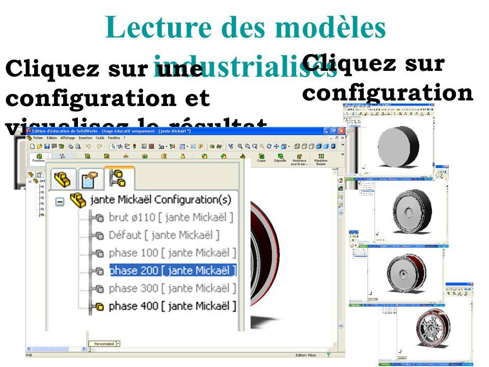 Lecture des modèles industrialisés
