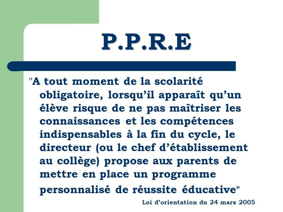 P.P.R.E