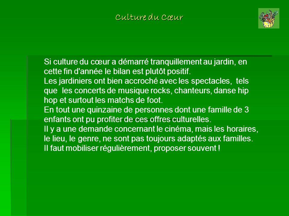 Culture du Cœur