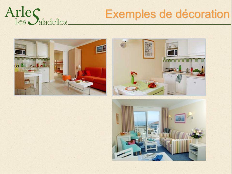 Exemples de décoration