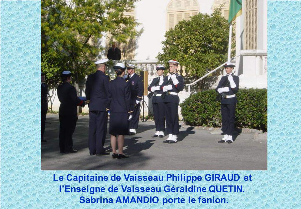 Le Capitaine de Vaisseau Philippe GIRAUD et
