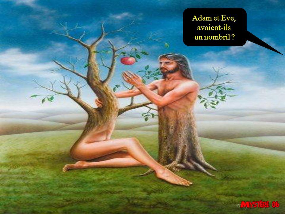 Adam et Eve, avaient-ils un nombril 33