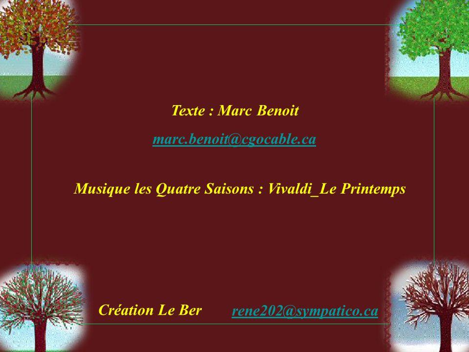 Musique les Quatre Saisons : Vivaldi_Le Printemps