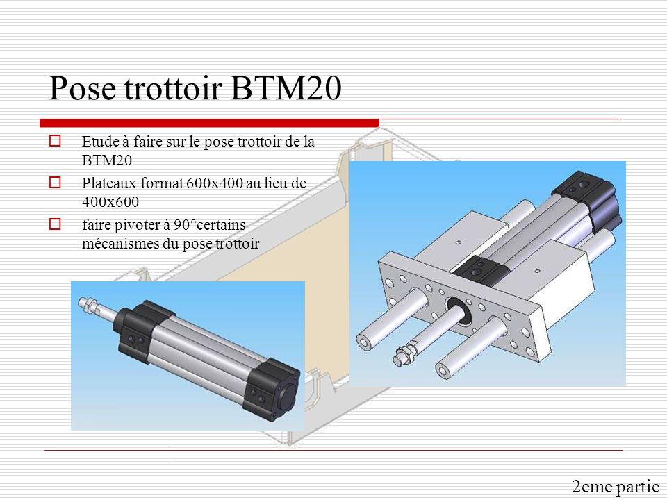 Pose trottoir BTM20 2eme partie