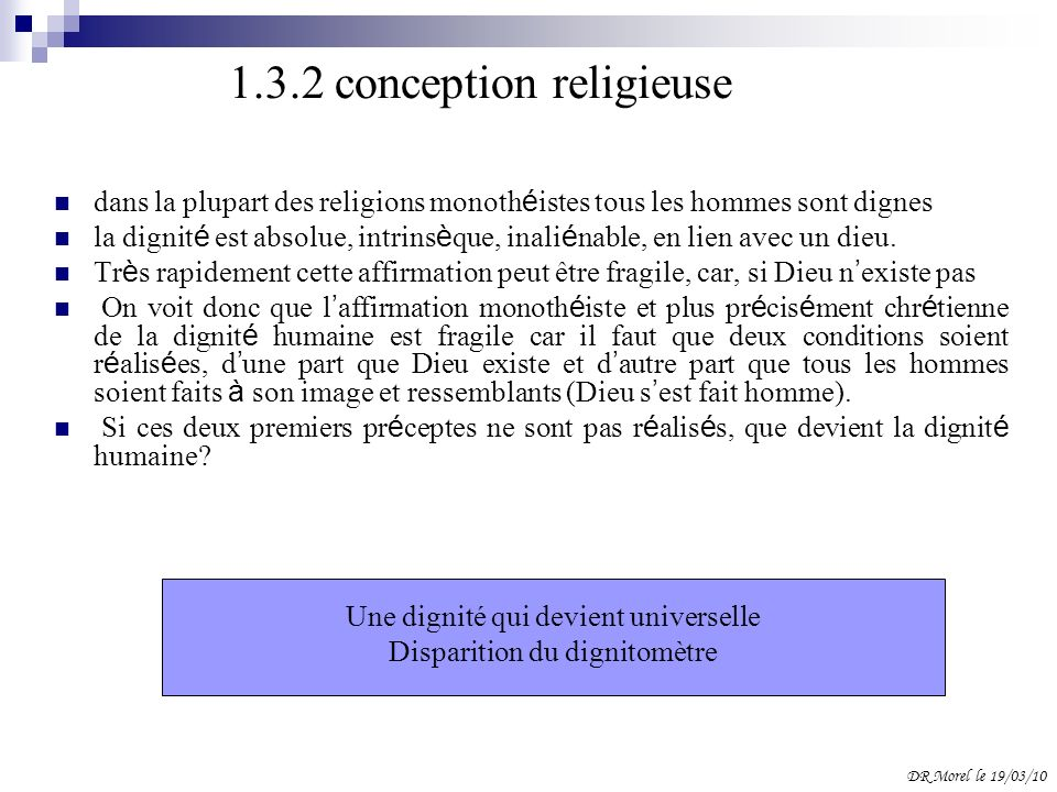 1.3.2 conception religieuse