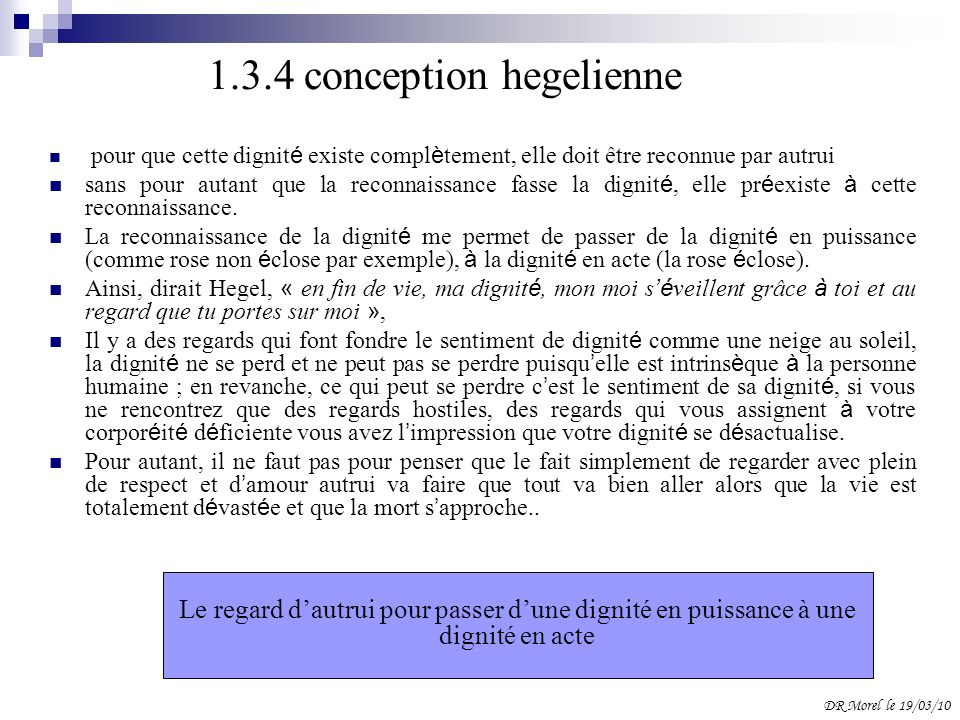 1.3.4 conception hegelienne