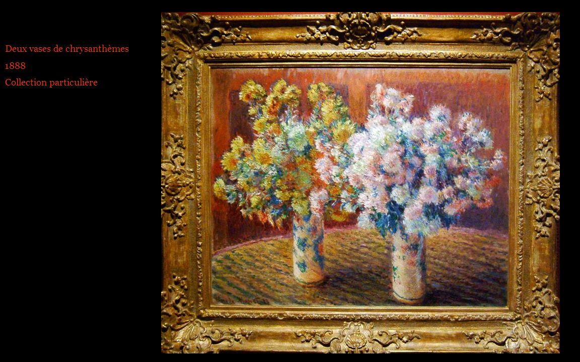 Deux vases de chrysanthèmes