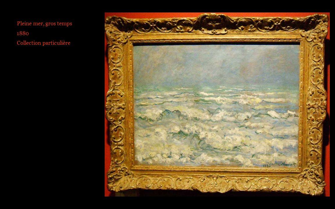 pleine mer 0021 1880 Pleine mer, gros temps 1880