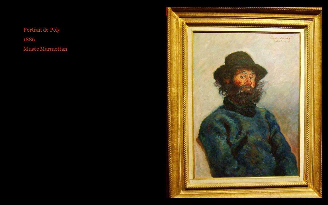 Portrait de Poly 1886 Musée Marmottan