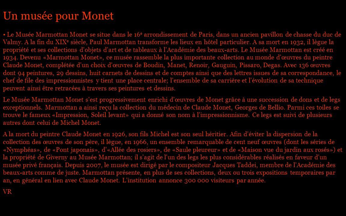 Un musée pour Monet