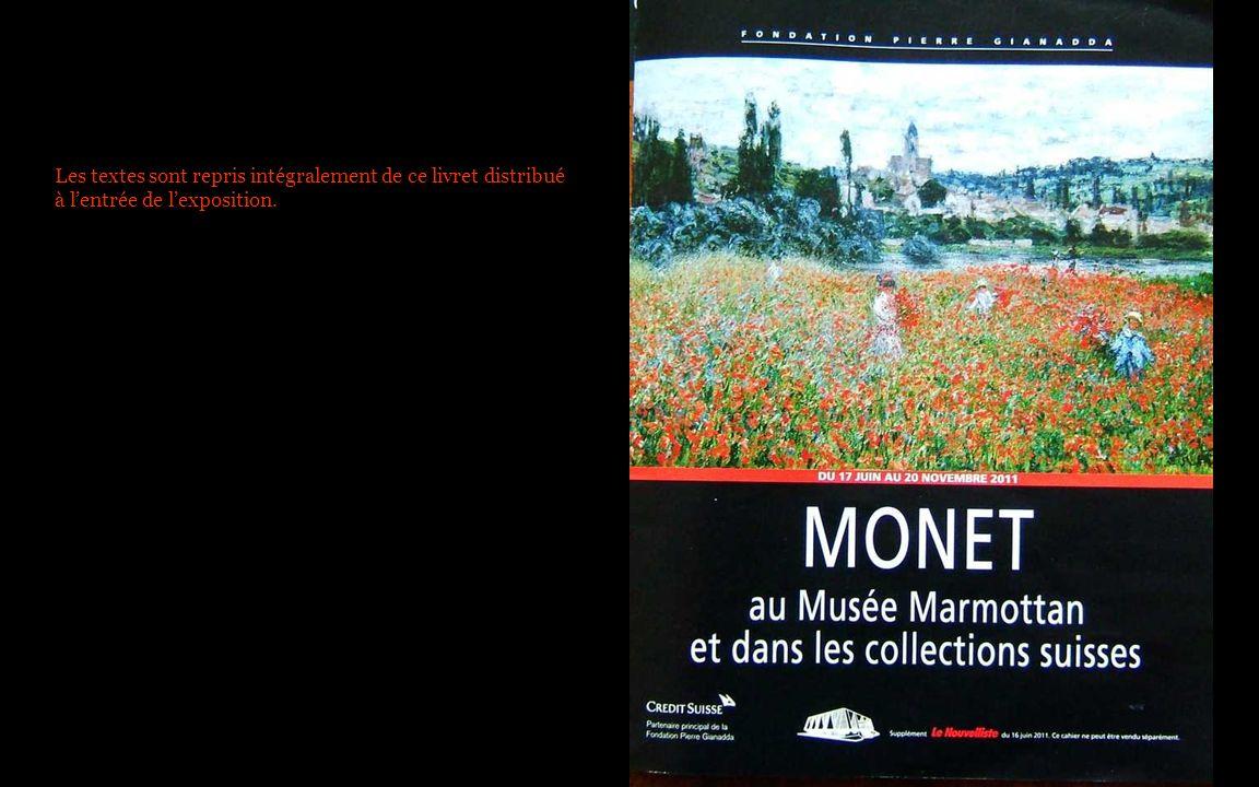 Les textes sont repris intégralement de ce livret distribué à l'entrée de l'exposition.