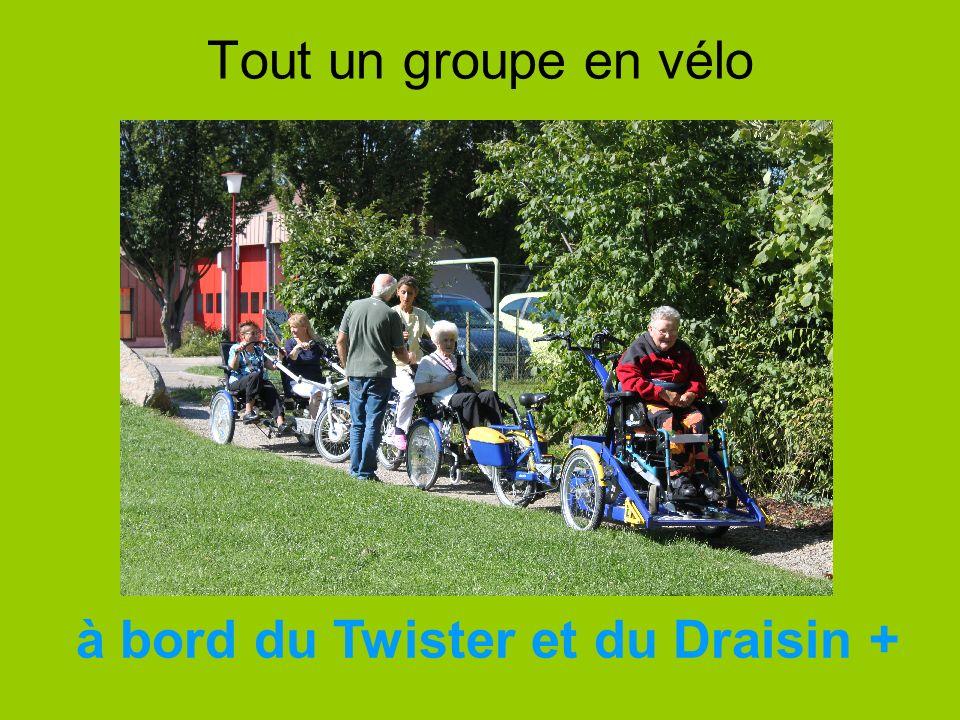 à bord du Twister et du Draisin +
