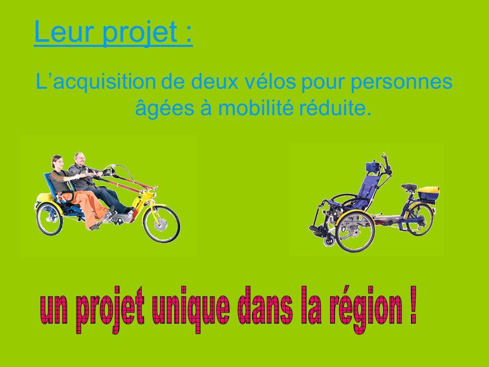 Leur projet : un projet unique dans la région !