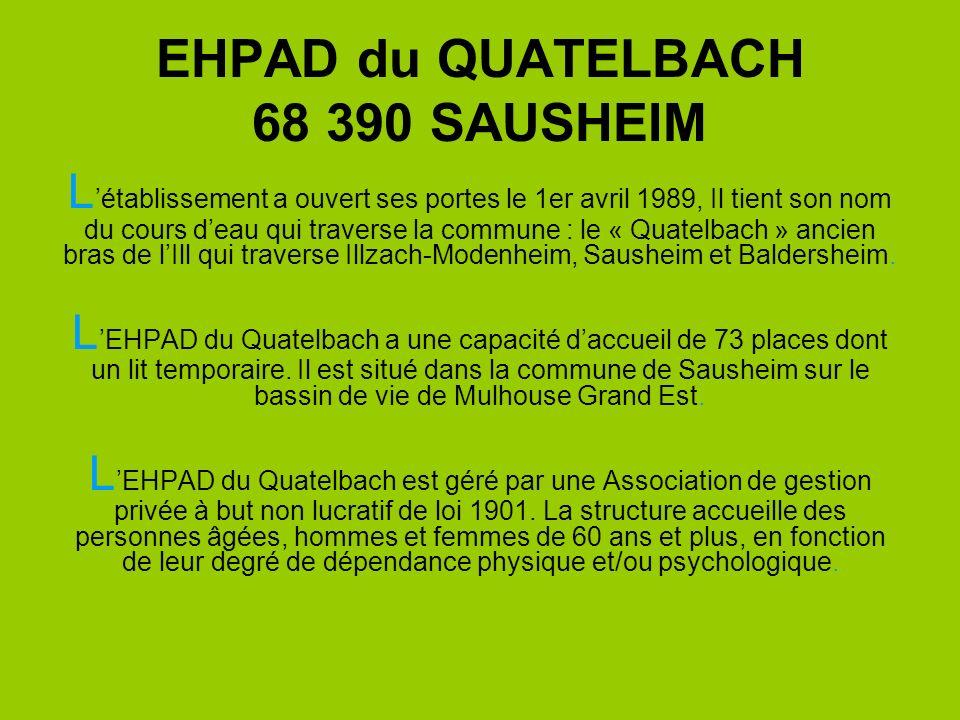 EHPAD du QUATELBACH 68 390 SAUSHEIM