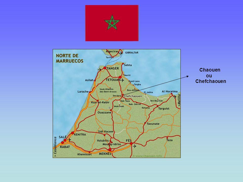 Chaouen ou Chefchaouen