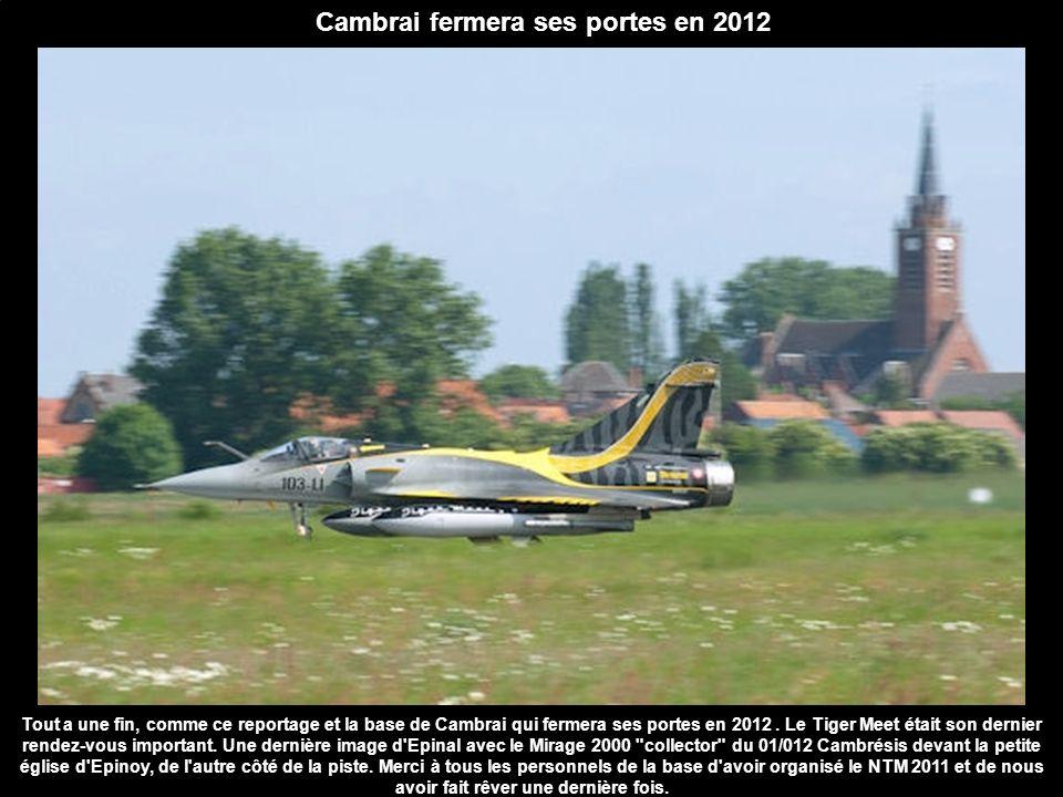 Cambrai fermera ses portes en 2012