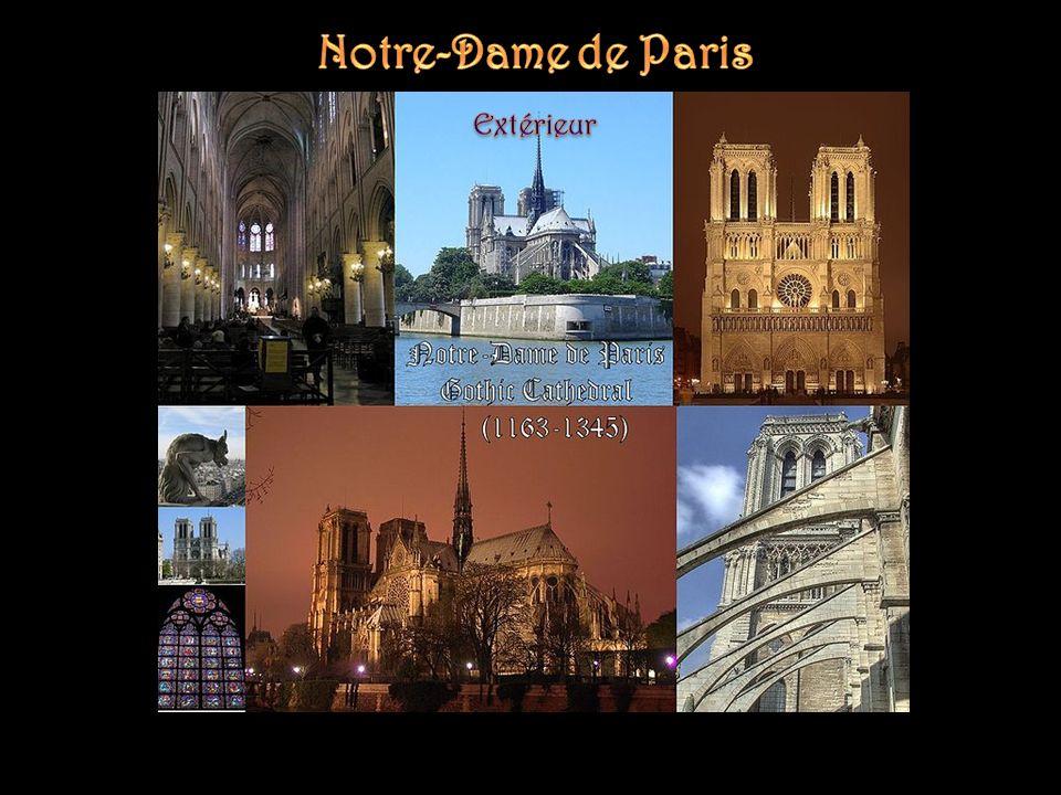 Notre-Dame de Paris Extérieur