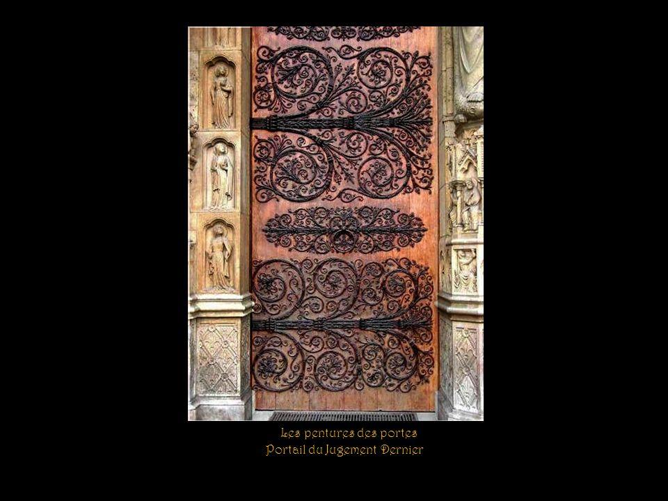 Les pentures des portes