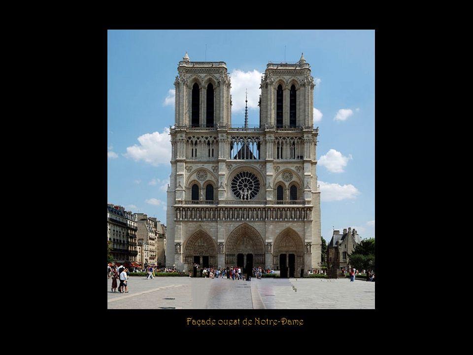 Façade ouest de Notre-Dame