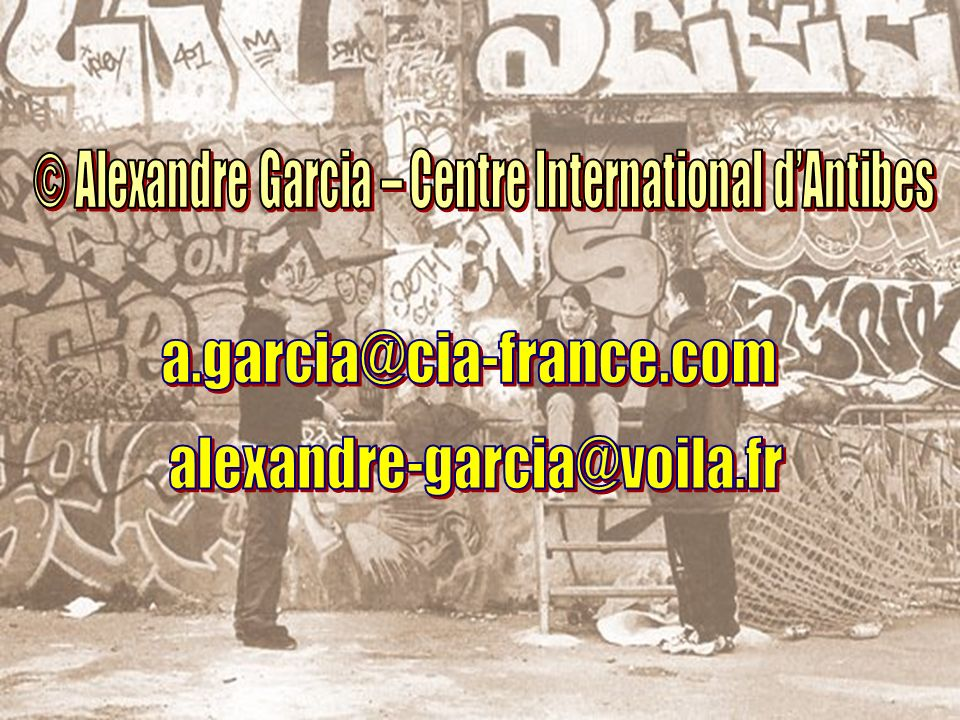© Alexandre Garcia – Centre International d'Antibes