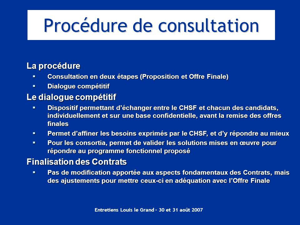 Procédure de consultation
