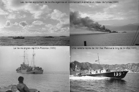 Le navire anglais de DCA Pozorica (IWM)