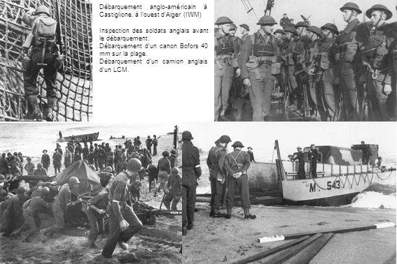 Débarquement anglo-américain à Castiglione, à l'ouest d'Alger (IWM)