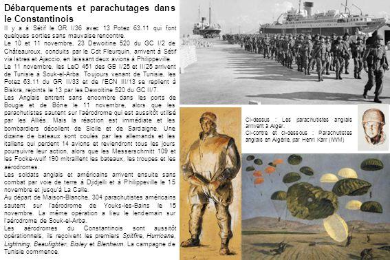 Débarquements et parachutages dans le Constantinois