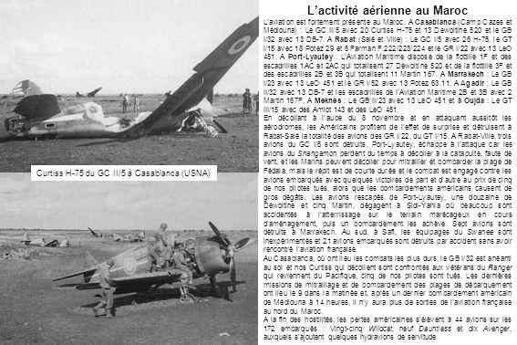 L'activité aérienne au Maroc