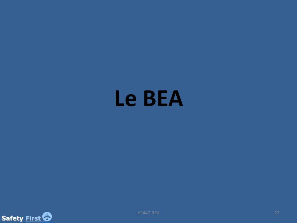 Le BEA AF447-REX