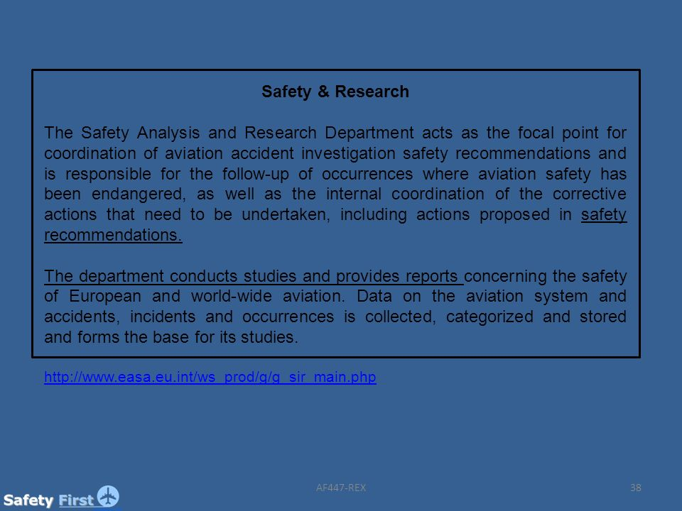 Safety & Research