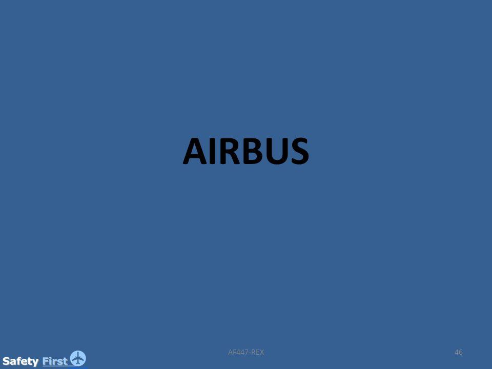 AIRBUS AF447-REX