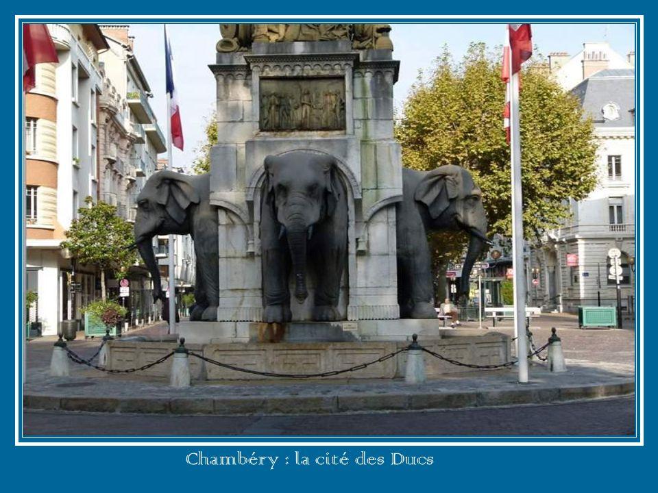 Chambéry : la cité des Ducs