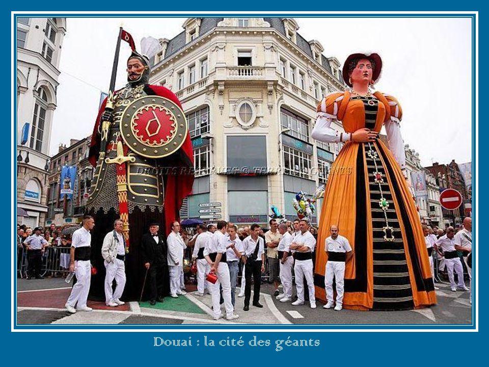 Douai : la cité des géants