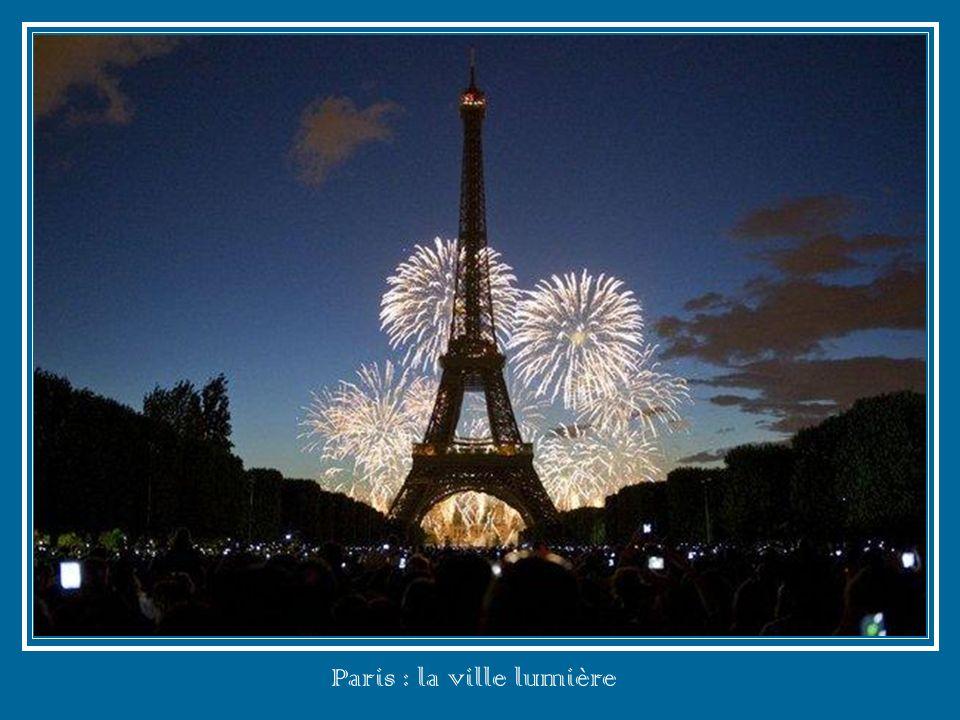 Paris : la ville lumière
