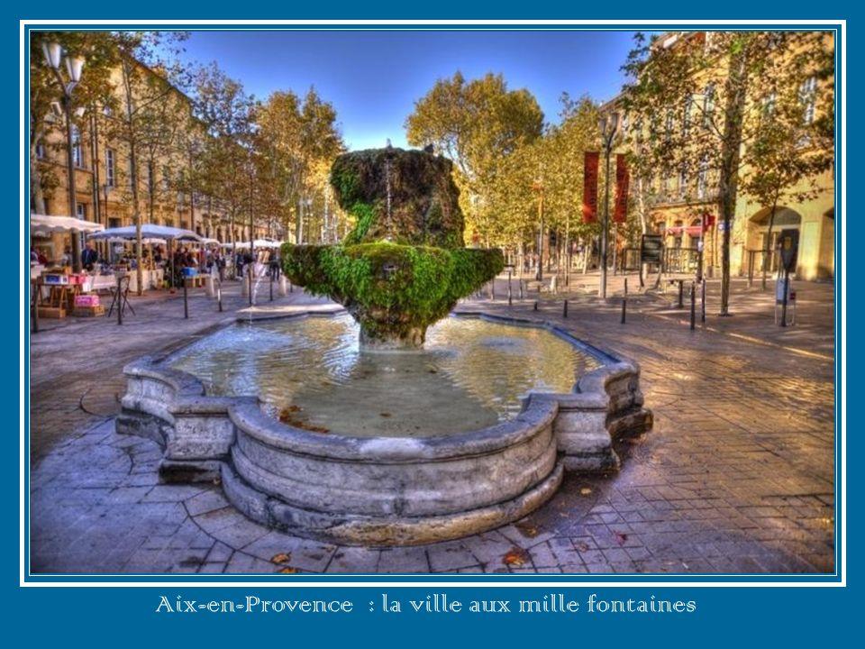 Aix-en-Provence : la ville aux mille fontaines