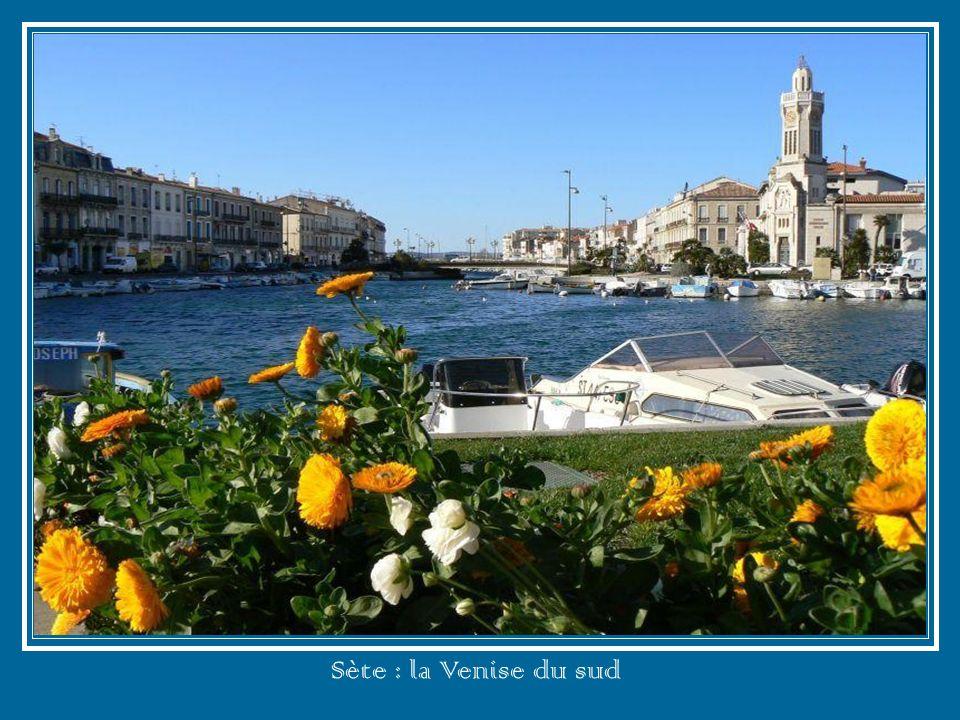 Sète : la Venise du sud