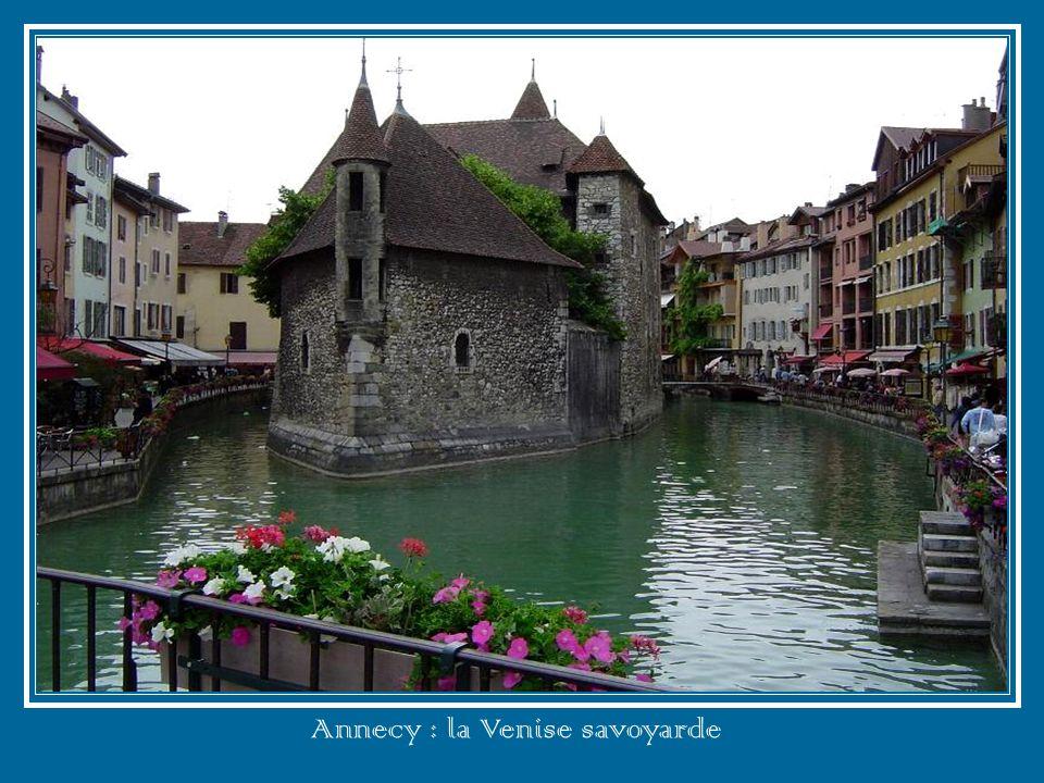 Annecy : la Venise savoyarde