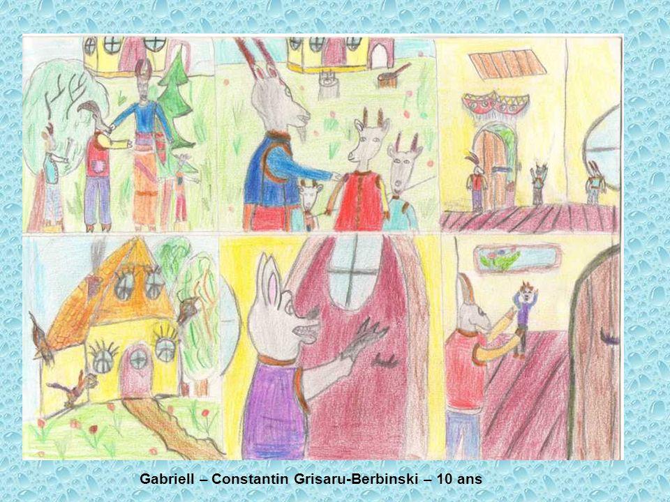 Gabriell – Constantin Grisaru-Berbinski – 10 ans