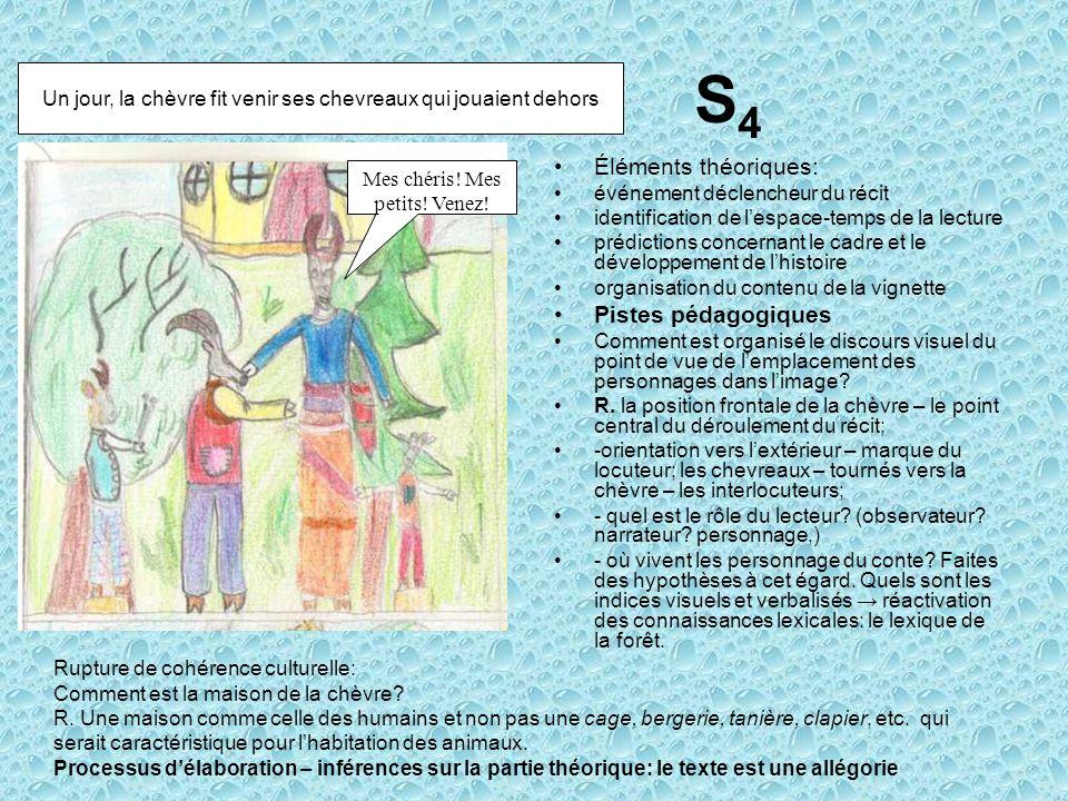 S4 Éléments théoriques: Pistes pédagogiques