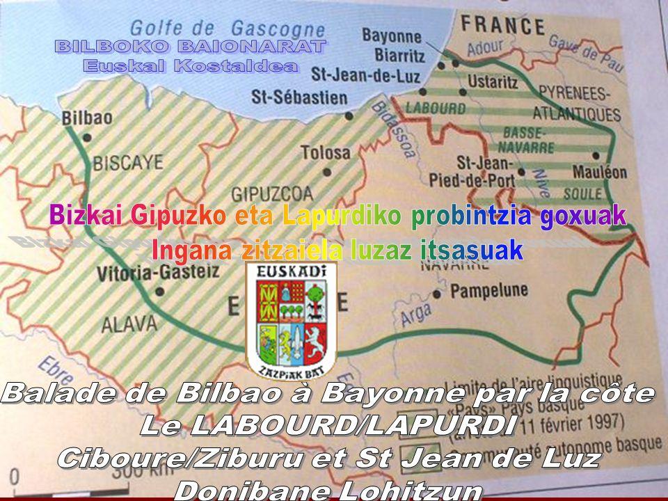 Balade de Bilbao à Bayonne par la côte Le LABOURD/LAPURDI